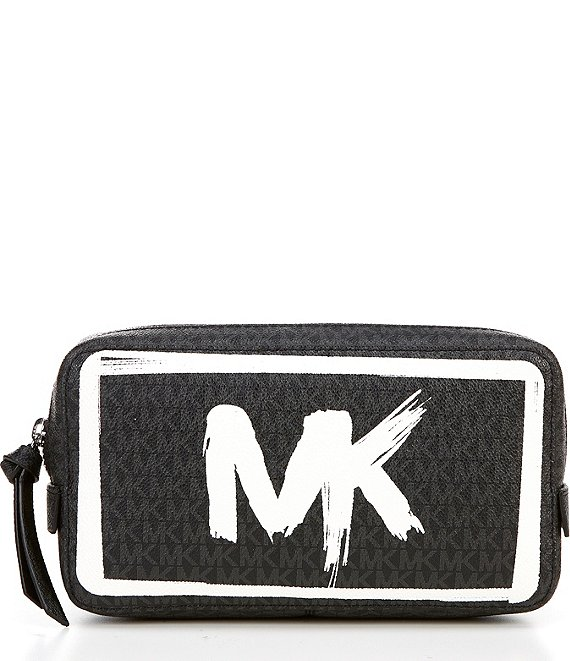 Color:Black - Image 1 - MICHAEL Michael Kors Signature Logo Belt Bag