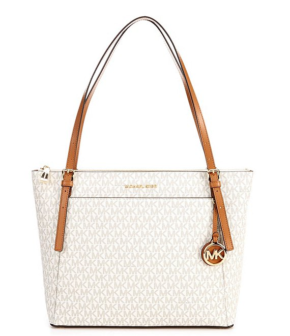 MICHAEL Michael Kors Signature Voyager Large East West Top Zip Tote Bag
