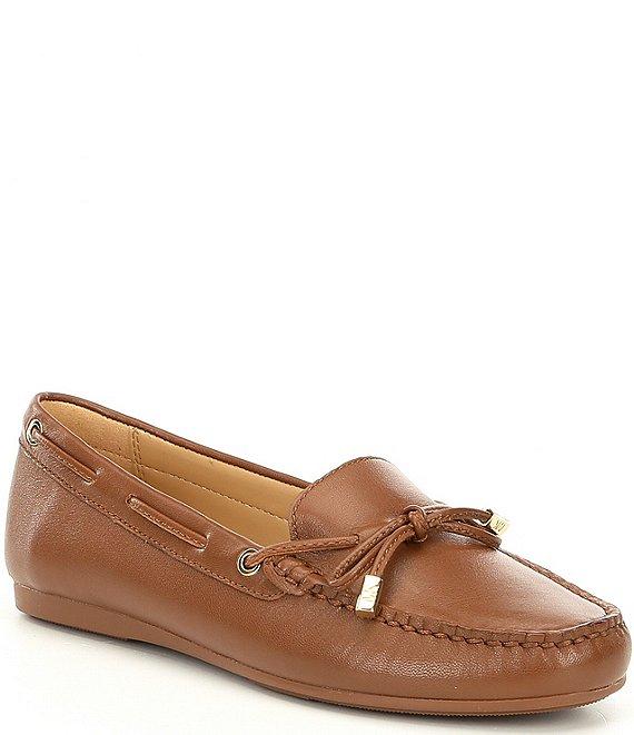 67f485d202b MICHAEL Michael Kors Sutton Moc Bow Detail Loafers