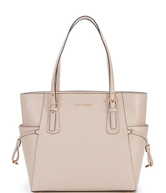 Color:Soft Pink - Image 1 - Voyager East/West Tote Bag