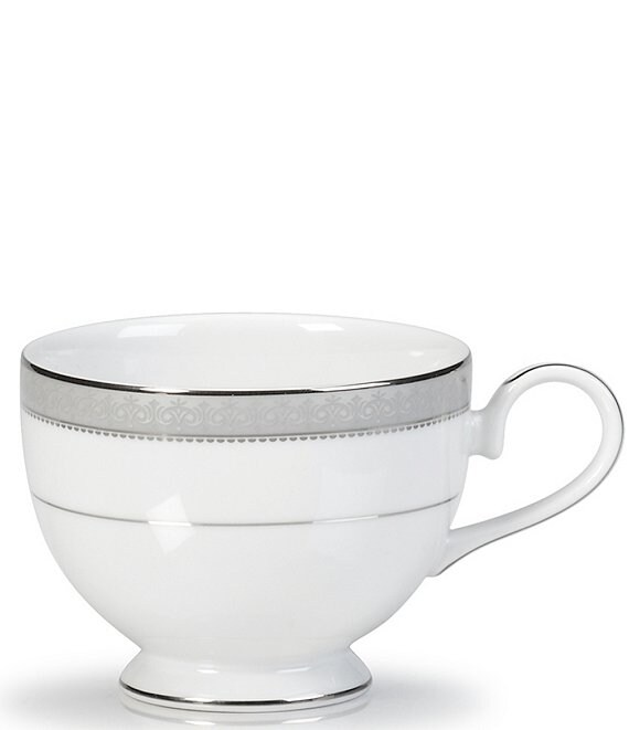 Mikasa Platinum Crown Filigree Platinum Porcelain Cup