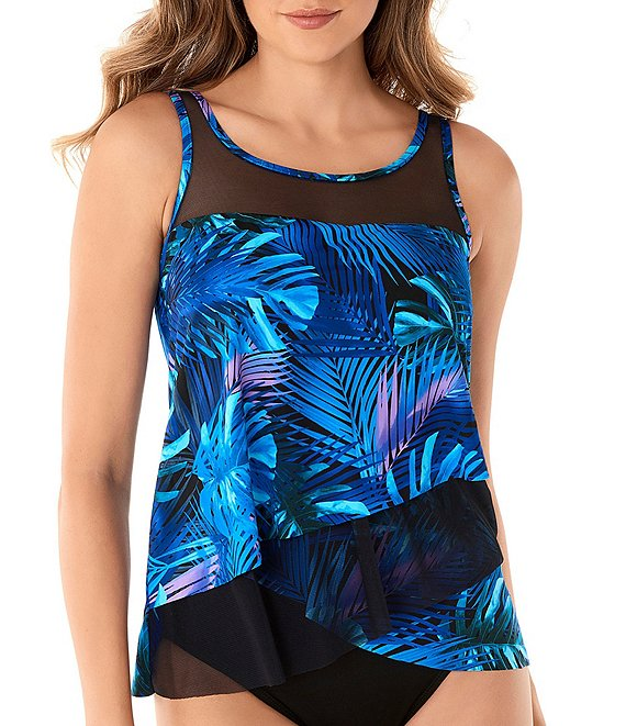 Miraclesuit Royal Palms Mirage Underwire Tankini Swimsuit Top