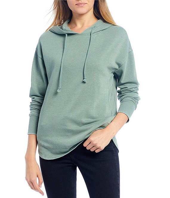Color:Green Tea - Image 1 - Long Sleeve Hoodie