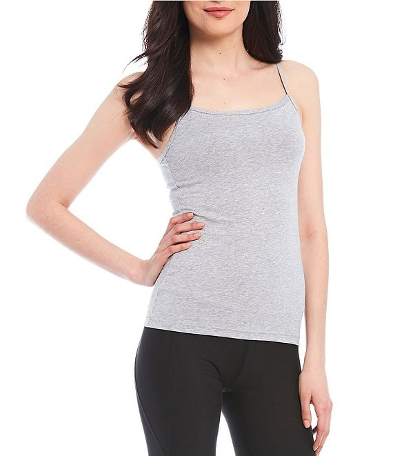 Color:Heather Gray - Image 1 - Step-In Bra Camisole