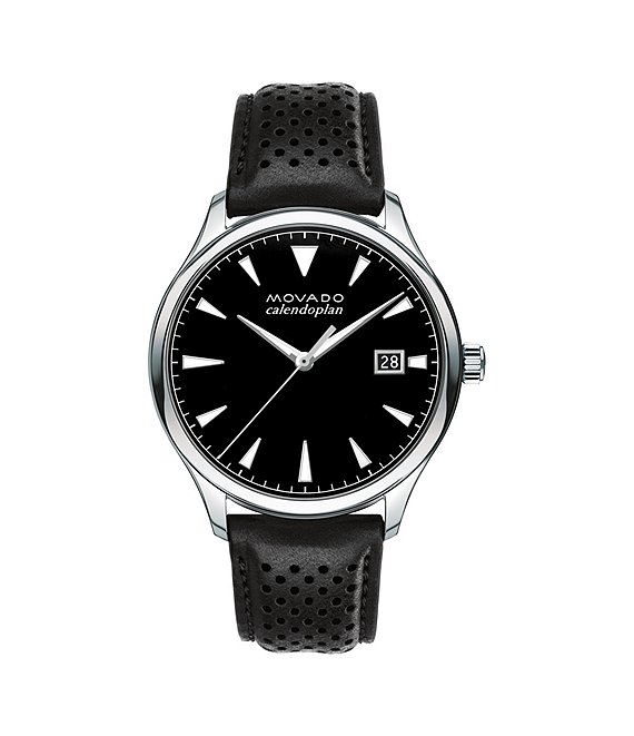 Movado Heritage Series Calendoplan Analog & Date Watch
