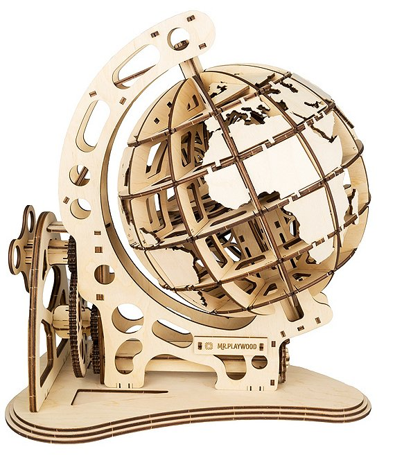 Mr. Playwood Earth Globe Mechanical Puzzle