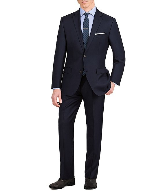 a90bb72490 Murano Slim-Fit Solid Single-Breasted Wool Suit