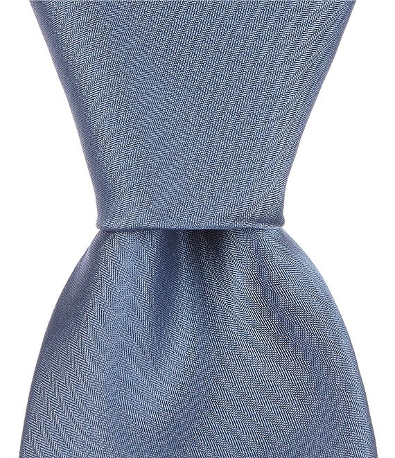 Color:Blue Dust - Image 1 - Narrow 3#double; Silk Tie