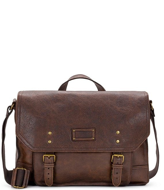 Nash Tuscan II Leather Messenger Bag