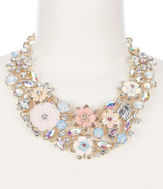 Natasha Accessories Garden Party Statement Necklace