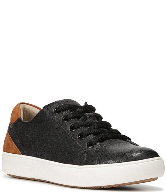 Color:Black - Image 1 - Morrison Leather Sneakers