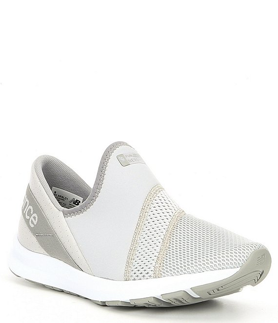 Color:Summer Fog/Rain Cloud - Image 1 - Women's Nb Nergize Slip On Sneaker