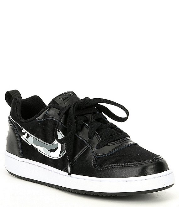 Nike Boys' Court Borough Low Camo Lifestyle Shoes (Youth)