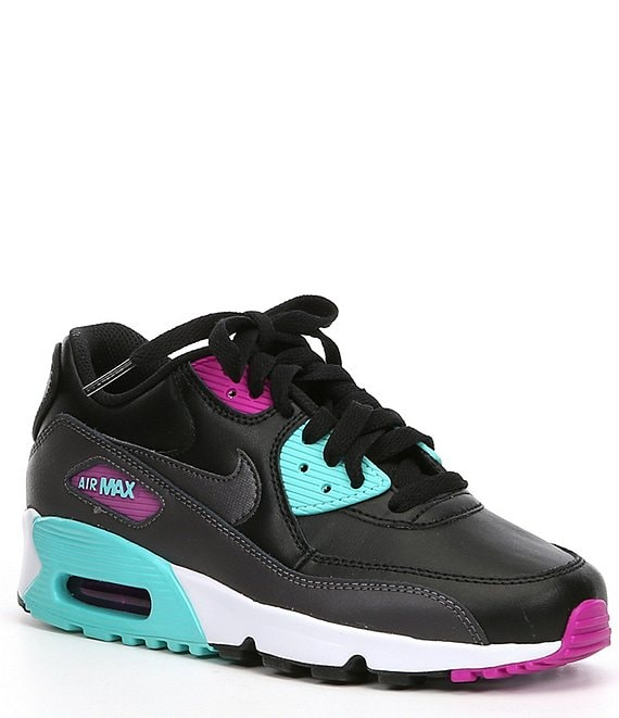 Nike Kids' Air Max 90 LTR Lifestyle Shoe