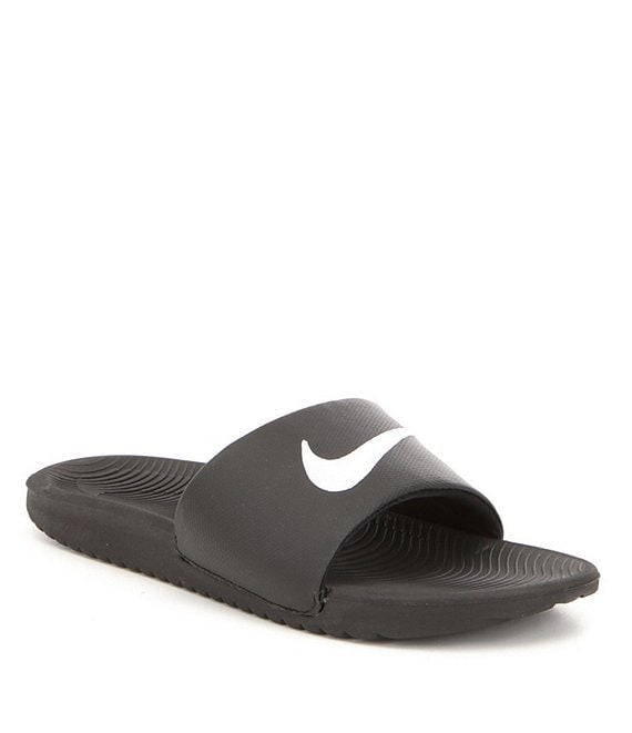 1a9849c28 Nike Men's Kawa Synthetic Cushioned Sole Slide On Banded Sandals | Dillard's