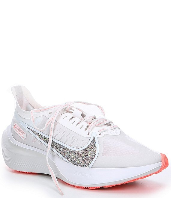 Color:Summit White/Vast Grey/Lava Glow/White - Image 1 - Women's Zoom Gravity Running Shoes