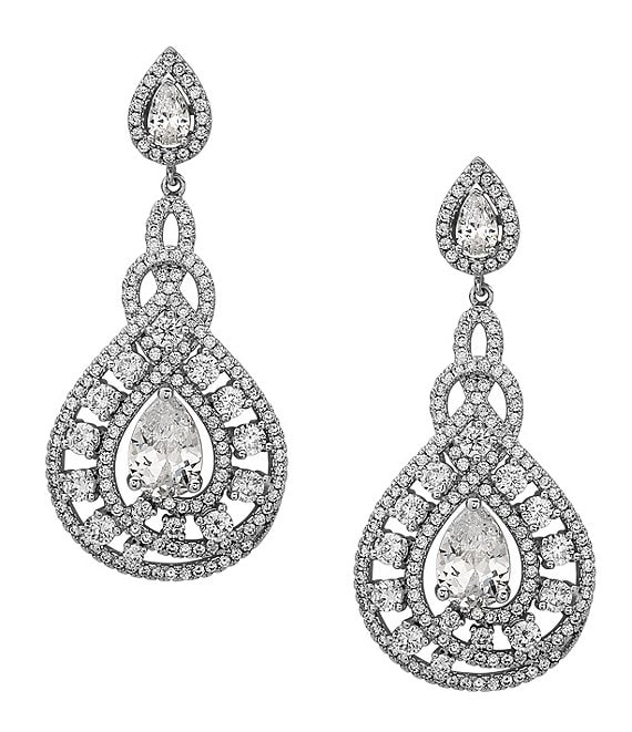 Nina Eppie Glamorous Crystal Earrings