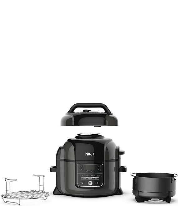 Color:Black - Image 1 - Foodi 6.5 Qt. Pressure Cooker with Tendercrisp Technology