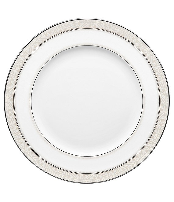 Noritake Montvale Platinum China Dinner Plate