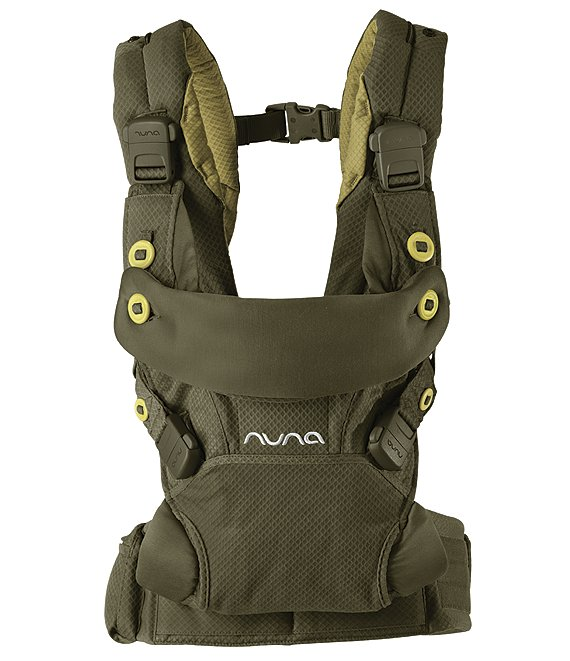 Color:Olive - Image 1 - Cudl 4-in-1 Baby Carrier