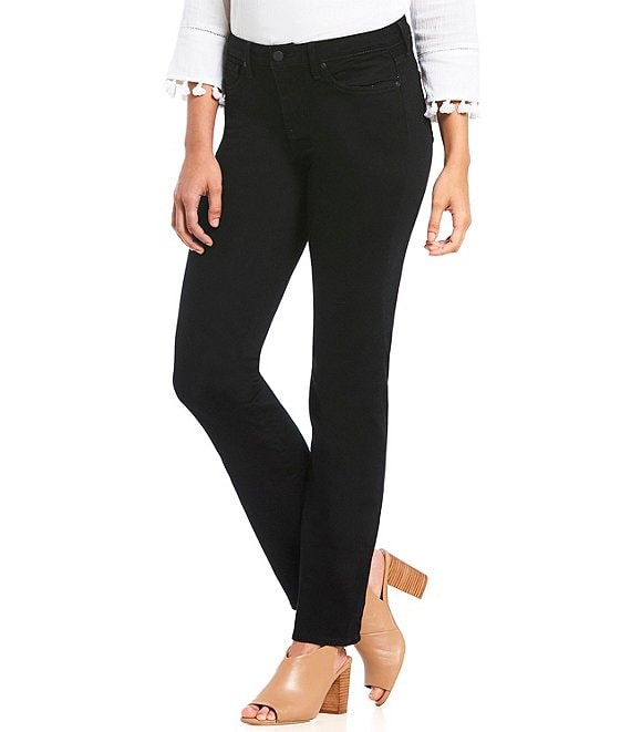 Color:Black - Image 1 - Barbara High Rise Bootcut Jeans