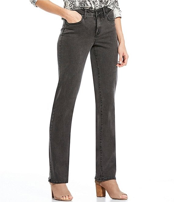 Color:Folsom - Image 1 - Marilyn Straight Leg Jeans