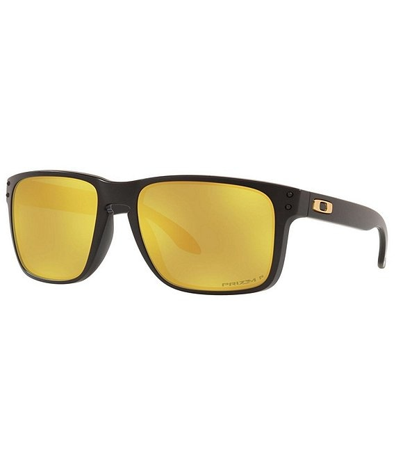 Color:Black - Image 1 - Men's Holbrook Polarized 59mm Square Sunglasses