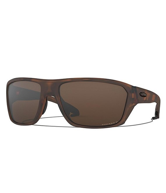 Oakley Split Shot Wrap Polarized Sunglasses