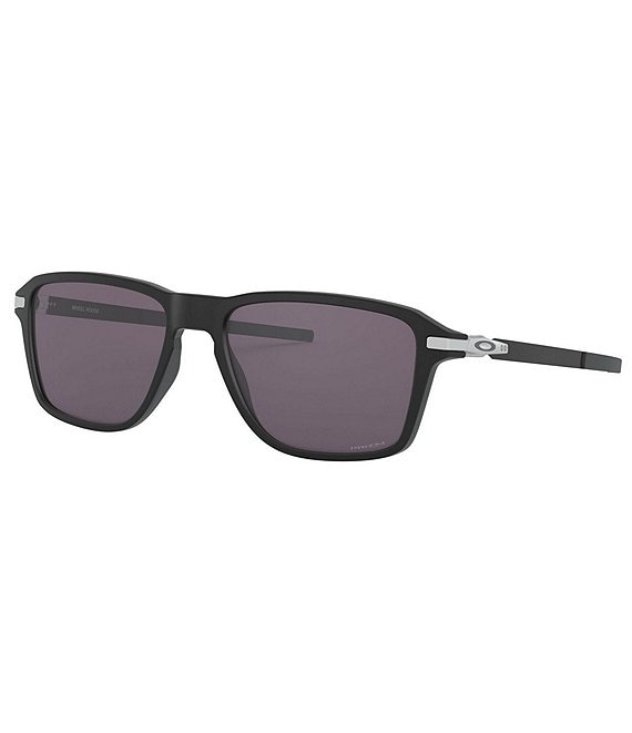 Color:Satin Black - Image 1 - Wheel House Square Sunglasses