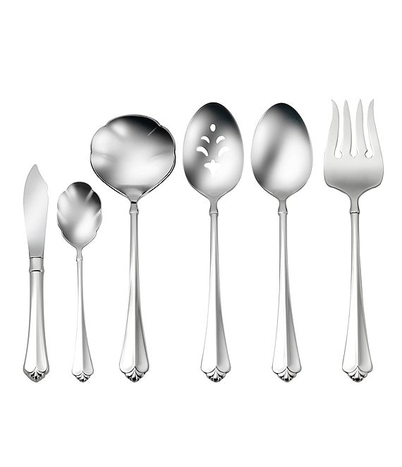 Oneida Juilliard Fleur-de-Lis Stainless Steel 6-Piece Serving Set