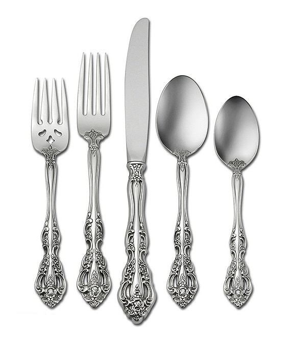 Oneida Michelangelo Traditional Stainless Steel Flatware