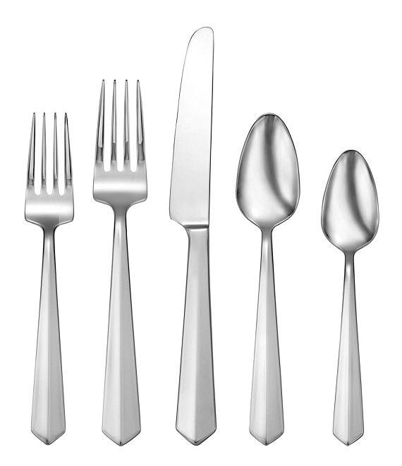 Oneida Vertica 65-Piece Stainless Steel Flatware Set