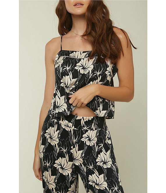 Color:Black - Image 1 - Coordinating Cobie Floral Tank Top