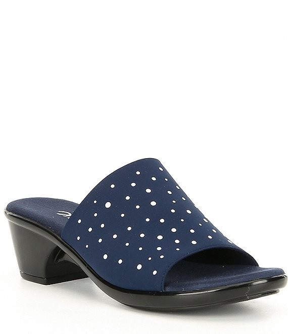 Onex Space Studded Fabric Slide Sandals