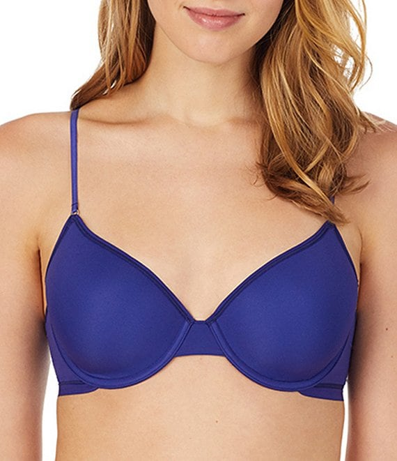 Color:Spectrum Blue - Image 1 - Next to Nothing T-Shirt Bra