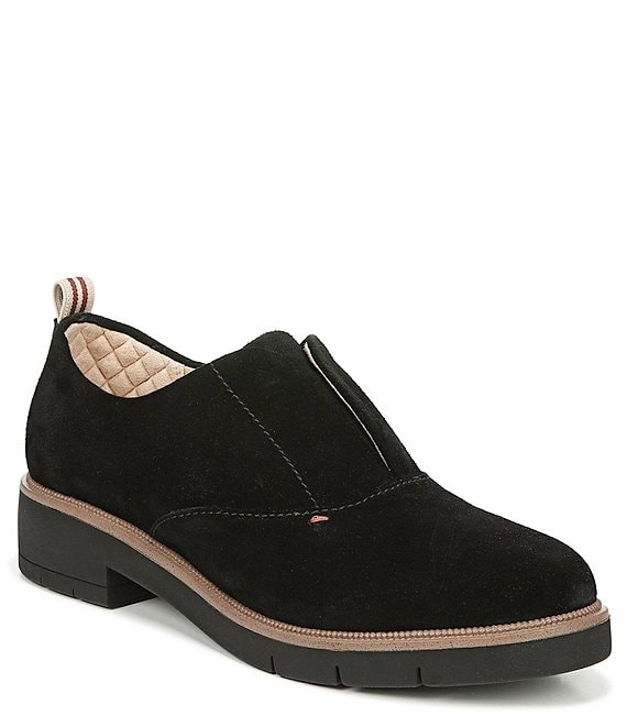 Original Collection by Dr. Scholl's Guess What Suede Block Heel Oxford