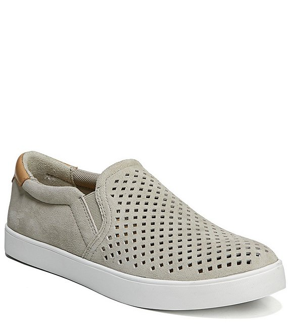 Scout Perforated Suede Slip On Sneakers