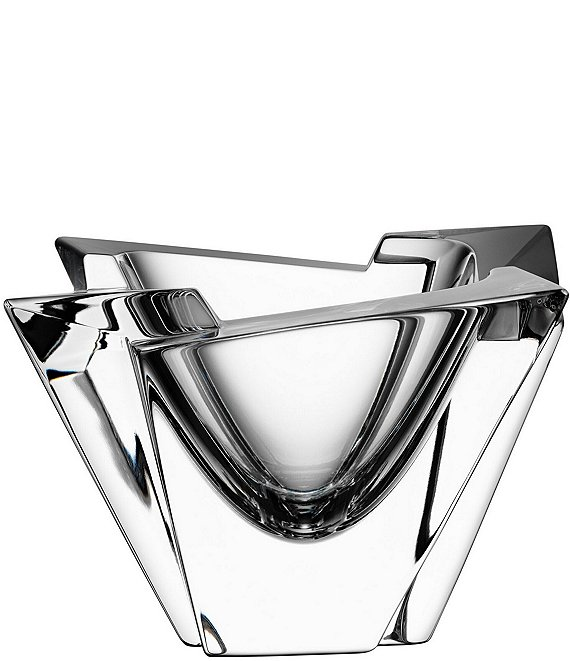 Orrefors Glacial Collection Crystal Bowl