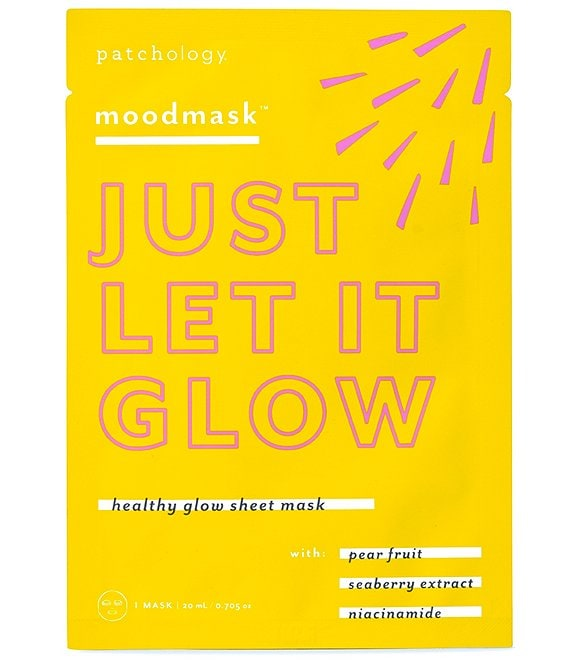 Patchology moodmask™ Just Let It Glow Sheet Mask