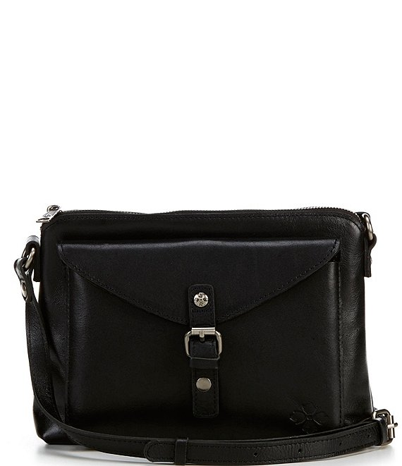 Color:Black - Image 1 - Heritage Collection Avellino Crossbody Bag