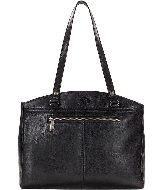 Color:Black - Image 1 - Heritage Collection Poppy Satchel Bag