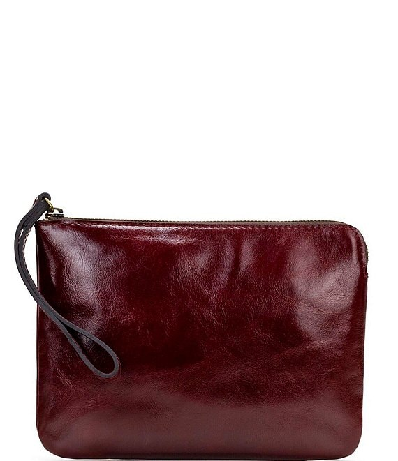Color:Red - Image 1 - Vintage Patent Collection Cassini Wristlet