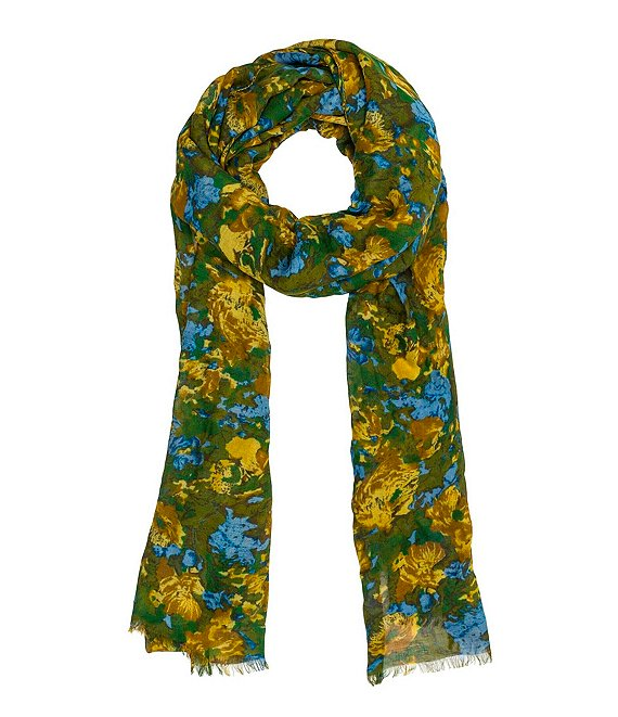 Color:Wildflower - Image 1 - Wildflower Collection Scarf