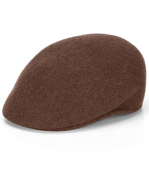 Color:Olive Mix - Image 1 - Cuffley Crushable Water-Repellent Wool Cap