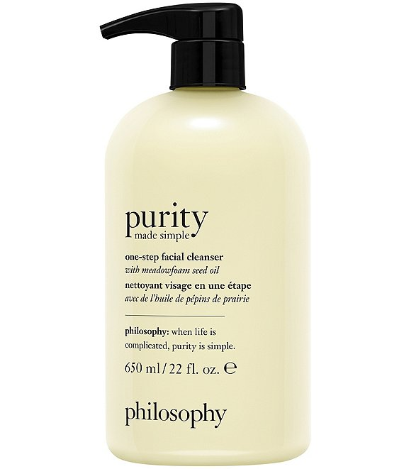 philosophy Purity Made Simple One-Step Facial Cleanser, 22-oz.