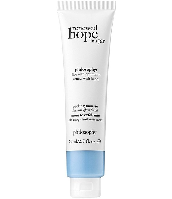 philosophy renewed hope in a jar peel mousse