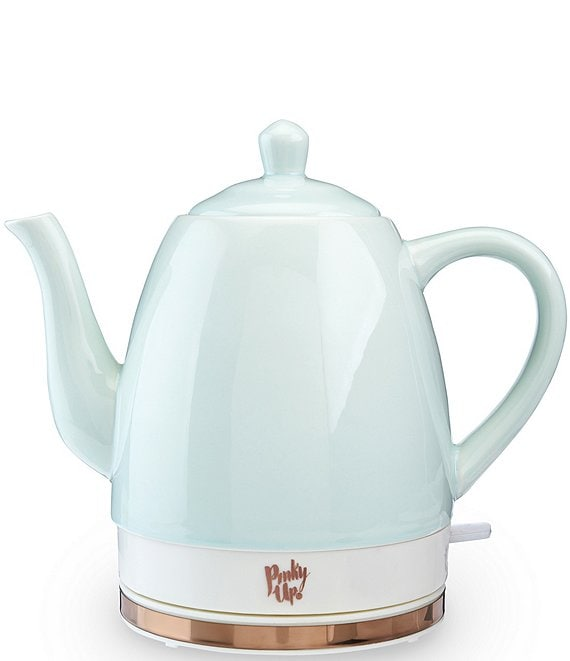 Pinky Up Noelle Ceramic Electric Tea Kettle