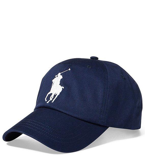3faec25543f76 Polo Ralph Lauren Big Pony Athletic Twill Cap