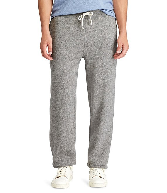 Color:Alaskan Heather - Image 1 - Big & Tall Classic Fleece Drawstring Pants