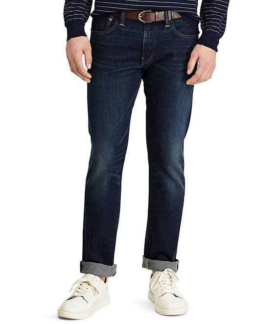 Color:Murphy - Image 1 - Big & Tall Hampton Relaxed Straight-Fit Stretch Jeans